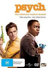Psych : Season 4 (DVD, 4-Disc Set) NEW