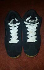 Duffs Earl Trainers BLACK UK8 US9 EU42.5