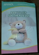 Apunol Baby Sleep Soother, Baby White Noise And Toddler Sleep Aid Night Light