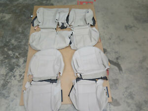 2018 Nissan Murano S & SV OEM cloth seat cover set  TAN