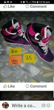 Nike ladies high top trainers 3.5