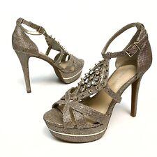 ✅❤️✅$ Gianni Bini Sparkle Rhinestone Studded Stiletto Heels Women's 8.5 M NWOB