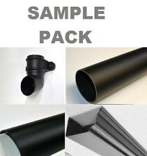 SAMPLE PACK - The Cast Iron Effect Company - Gutter and Downpipe