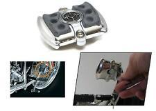 Pedale revolver freno brake pad cromato Harley Davidson Kuryakyn Liberator 4594