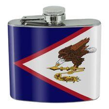 New listing American Samoa Us Territory Flag Stainless Steel 5oz Hip Drink Kidney Flask