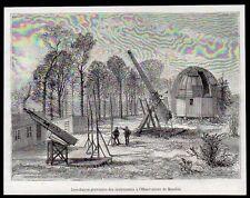 1886  --  INSTALLATION PROVISOIRE DES INSTRUMENTS OBERVATOIRE DE MEUDON   3M058