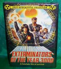 NEW RARE OOP CODE RED EXTERMINATORS OF THE YEAR 3000 POST APOCALYPTIC DVD 1983