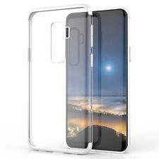 Coque Étui Housse Galaxy S9 Plus Samsung Silicone Gel Transparent Chromé Bling B