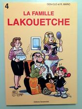 BD La famille Lakouetche, Tome 7 (Gen-clo et Maric) Edition Originale 1999