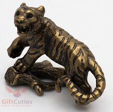 Solid Brass Figurine of Tiger IronWork
