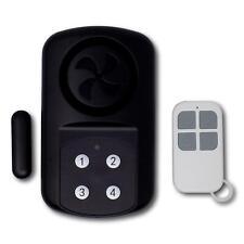 Minder Weatherproof Wireless Gate Door Alarm with Code or Remote Entry