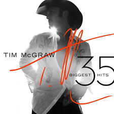 Tim McGraw : 35 Biggest Hits CD 2 discs (2015) ***NEW*** FREE Shipping, Save £s