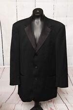 HUGO BOSS Baker/Jazz Black Tuxedo / Dinner Jacket 100% Virgin Wool Size 42R USA