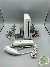 Nintendo Wii Spielkonsole + Original Wii Remote Controller + Original Nunchuk