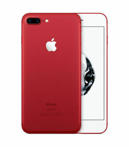 Apple iPhone 7 Plus 128GB- Smartphone - Red -(Unlocked) excellent condition