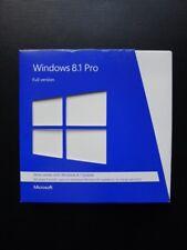 Microsoft Windows 8.1 Pro Professional 32/64-BIT DVD FQC-06914 Retail Boxed
