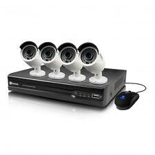 Swann SWNVK-474004 4 Channel 4 Bullet Camera 4MP Kit