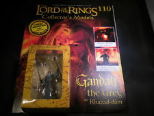 Lord of the rings figures-issue 110 gandalf le gris à khazad-dum-eaglemoss