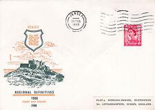 Jersey 1969 Regional Definitives FDC VGC