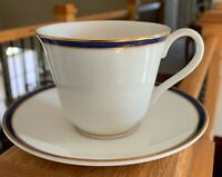 Royal Doulton OXFORD BLUE Cup & Saucers (3 sets)