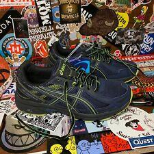 ASICS Gel-Venture 6 Trail Running Shoes Men's 7 (Wmns 8.5) Blue Green T8F0N 4990