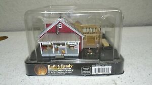 WOODLAND SCENICS HO SCALE OLD COUNTRY STORE BUILT & READY M0 65052 **NEW!**