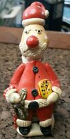 Vintage Shell Santa Claus Saint Nick Seashells Figurine Made in Philippines