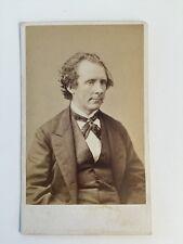 Vintage Carte De Visite CDV Photo - Henry Cooper Jn -  Gentleman