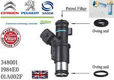 Petrol Fuel Injector Repairing Kit O-Ring Peugeot Citroen 01F002A 1984E0 Valeo