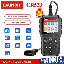 LAUNCH X431 CR529 Automotive OBD2 Scanner Diagnostic Fault Code Reader DTCs Data