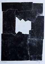 "EDUARDO CHILLIDA "" Deep | Sakon"" 1968 HAND SIGNED Lithograph Spanish sculptor"