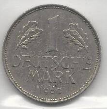 GERMANY, WEST, 1960-J, 1 MARK,   EXTRA FINE,  KM110