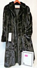 Full Length Natural Ranch Mink Coat from Shirley's LTD with 1995 Appraisal