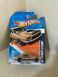 Hot Wheels '67 Shelby GT-500 #1/10 Muscle Mania Gold U10