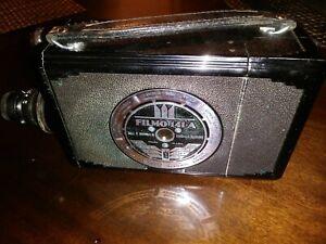 Beautiful Art Deco 1940s Bell & Howell Filmo 141-A 16mm Movie Camera w/  Case