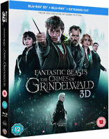 Fantastic Beasts The Crimes of Grindelwald [Blu-ray 3D + 2D] (2018) Harry Potter