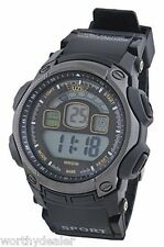 UZI Digital Sports Watch Mans Wristwatch Stopwatch Alarm Back Light Waterproof