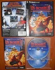 Los Increíbles: La amenaza del Socavador [PC / MAC CD-ROM] Versión Española