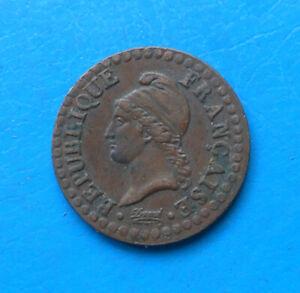 1 centime Dupré an 6 A (petit 6) , 53/50 , cote TTB 40€