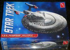 USS ENTERPRISE NCC-1701-E Model Kit 1:1400 MISB Star Trek TNG + Aztec Decal Set