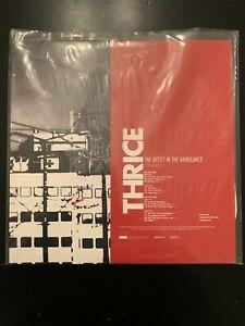Thrice - The Artist In The Ambulance Double LP Gatefold White Vinyl Rare