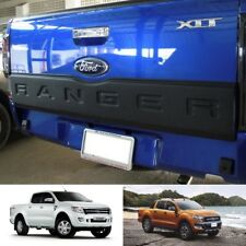 BLACK TAILGATE TAIL GATE COVER TRIM FORD RANGER T6 XLT PX UTE WILDTRAK 2012-2017