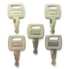 (5) John Deere Tractor Ignition Keys replaces OEM part RE183935 - Ships Free!