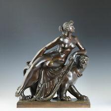 """frühe große Bronze """"Ariadne auf dem Panther"""" nach J.H. v. Dannecker Klassizismus"""