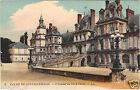77 - cpa - Palais de Fontainebleau - L'escalier du Fer à Cheval