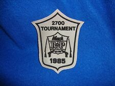 Vintage 1985 Mac Club Tournament Patch