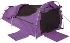 Sahara Nomad King Single Dome Canvas Swag & Bag - Purple