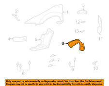 Genuine GM Parts 22618668 Passenger Side Front Fender Inner Panel Genuine General Motors Parts