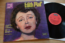 EDITH PIAF Der Spatz Von Paris LP DECCA ND 619 nm