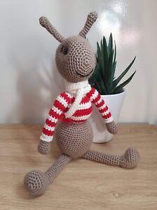 Ant Crocheted Amigurumi Stuffed Toy - Handmade